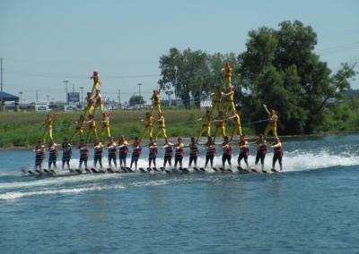 Water Skiing Lake City Skiers