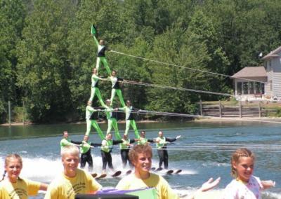 Water Skiers Water Ski Show