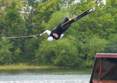 Water Skier Flip