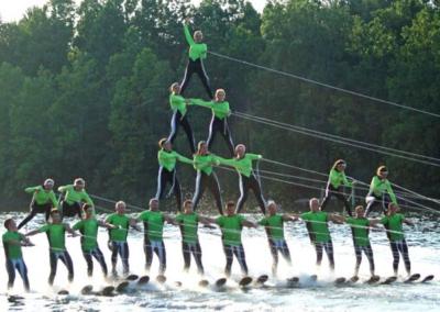 Lake City Skiers Team Water Ski Show
