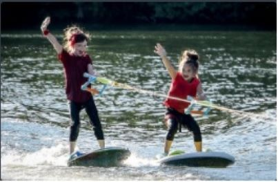 The Lake City Skiers Water Show Team has entertained crowds of over 1,500 people.